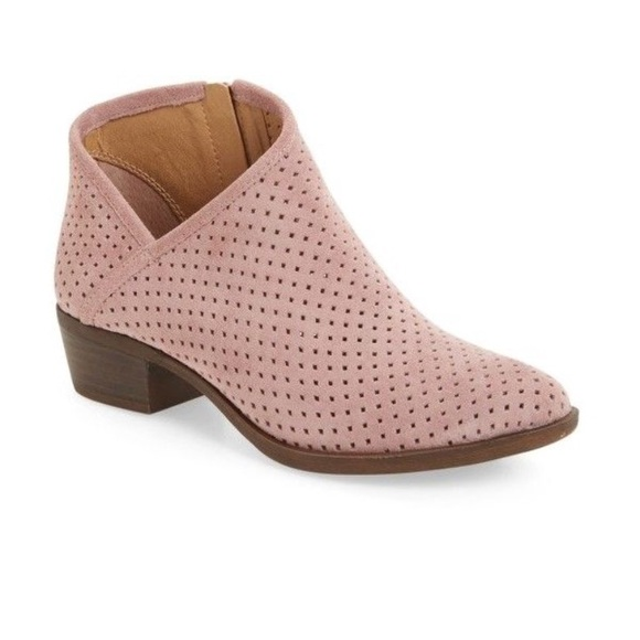 c9b1effdf919d Lucky Brand Shoes - Lucky Brand Breeza Perforated Bootie. Size 8 1 2.